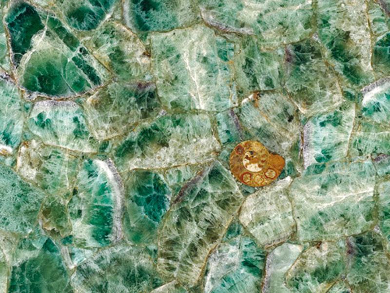 Precioustone - Emerald Fluorite