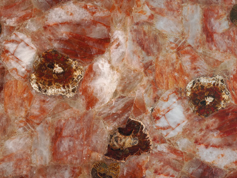 Precioustone - Fossilized Haematoid Quartz