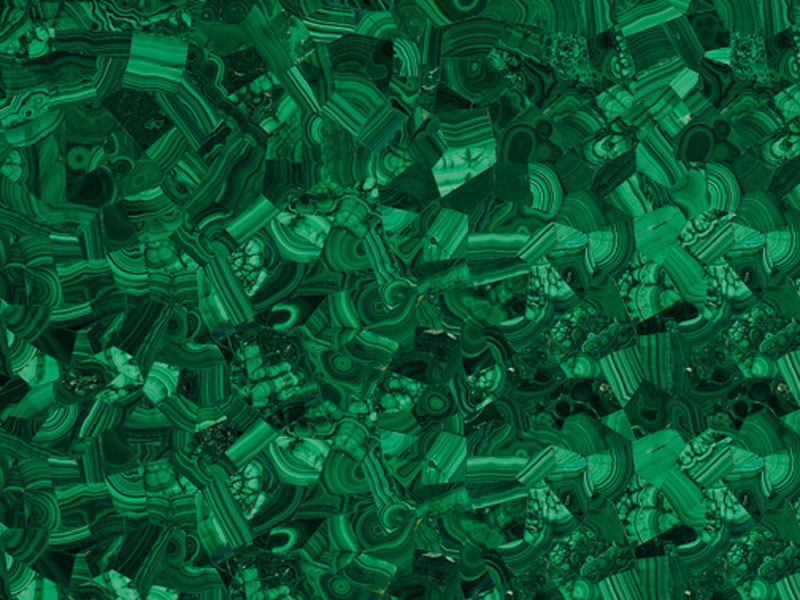 Gemstone: Green Malachite