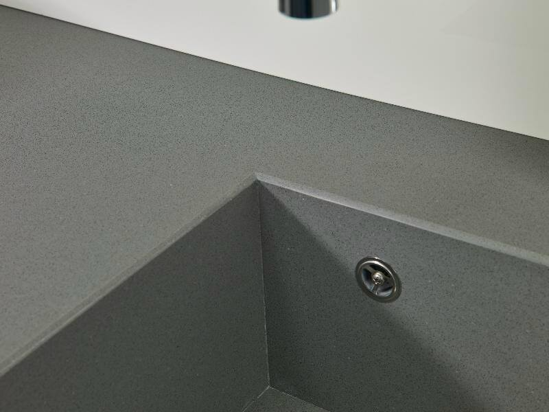 Top in silestone gris expo suede leather 02 - Gris expo silestone ...