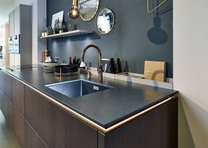 Silestone Charcoal Soapstone Suede